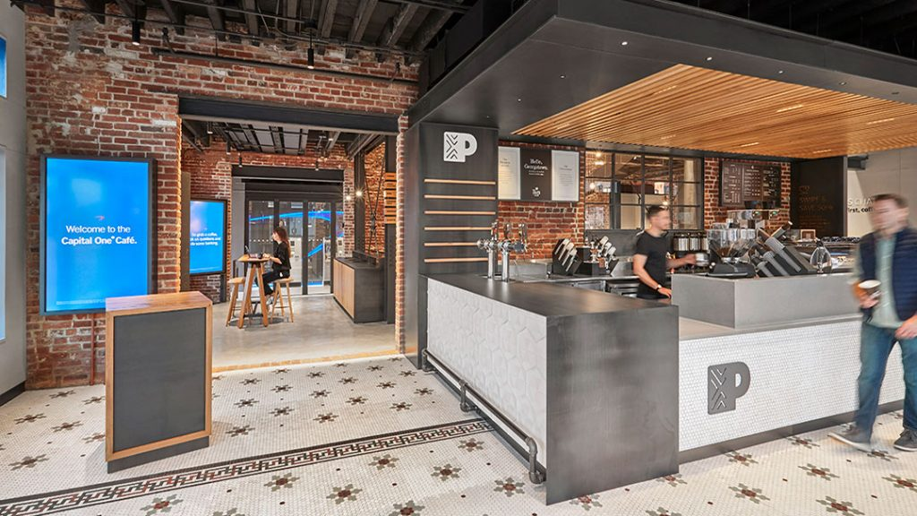 Capital One Cafe, Georgetown, DC
