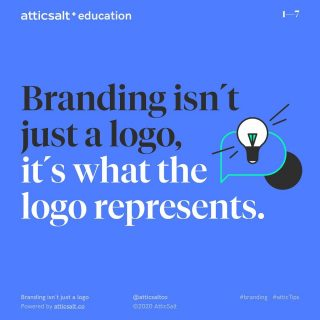 A logo may not be your brand but it is one of its most valuable tools. Not because of it's visual appeal but because of what it symbolizes. - @thechrisdo we'd be honored to create a featured post version for you. Non promotional of course ;)