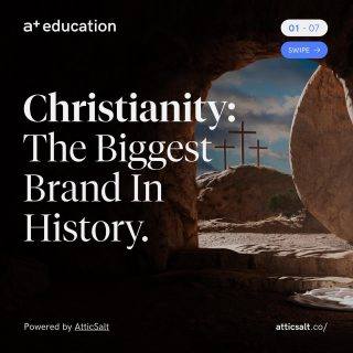 On this beautiful Easter Sunday we are reflecting on the greatest brand in history. What's the difference between Jesus Christ and Steve Jobs?? Click the link in bio to read the full article. Don't forget to bookmark, comment and share if you like this post.